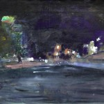 Nacht, 2008, olieverf, 50 x 60